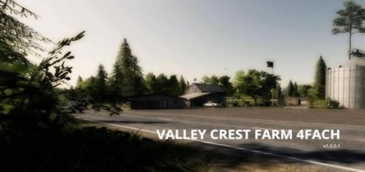 Photo of FS19 – Valley Crest 4X Çiftlik Haritası V1.0.0.1