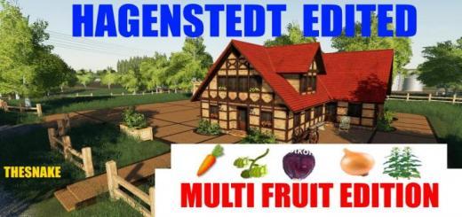 Photo of FS19 – Hagenstedt Edited Multifruit V1.0