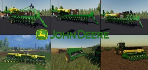 Photo of FS19 – John Deere Mibzer Paketi V1.0