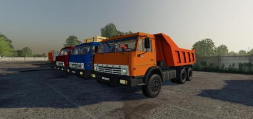 Photo of FS19 – Kamaz 55111 Sovok V1.0