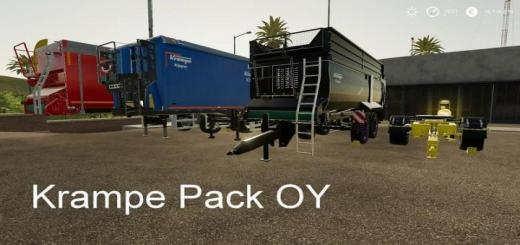 Photo of FS19 – Krampe Paketi V19.7.1
