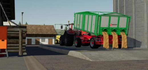 Photo of FS19 – Kroeger Agroliner Hkd302 V1.1.0.0