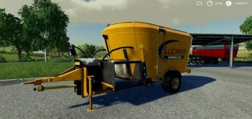 Photo of FS19 – Lucas Spirmix Frabel V1.0