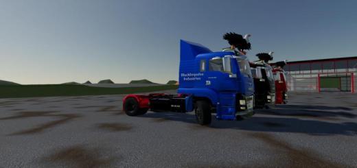 Photo of FS19 – Man Tgs18.500 Blackimpulse Edition V1.1.1