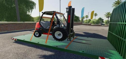 Photo of FS19 – Manitou Forklift V1.0