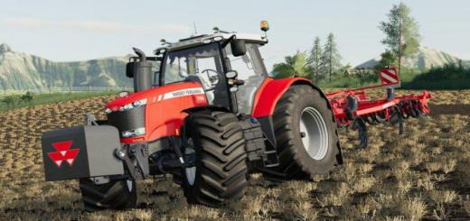 Photo of FS19 – Massey Ferguson Ağırlık V1.0