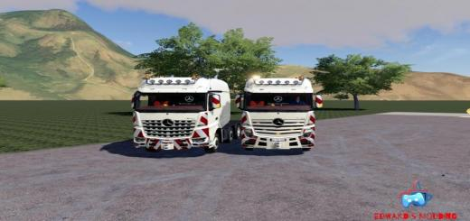 Photo of FS19 – Mercedes Actros Arocs Slt 8X4 V1.0