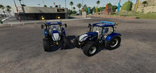Photo of FS19 – New Holland T6 Güçlü Traktör V1.0.0.3
