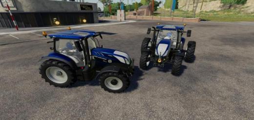 Photo of FS19 – New Holland T6 Mavi Güçlü Traktör V1.0.0.2