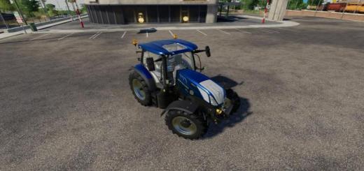 Photo of FS19 – New Holland T6 Mavi Güçlü Traktör V1.0