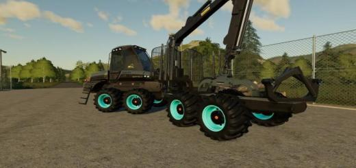 Photo of FS19 – Ponsse Buffalo With Clamping Stake V1.0