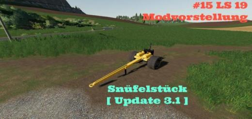 Photo of FS19 – Snufelstuck V4.0