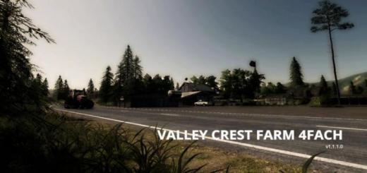 Photo of FS19 – Valley Crest 4X Çiftlik Haritası V1.1.1.0