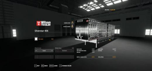Photo of FS19 – Wilson Silverstar 406 V1.0