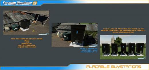 Photo of FS19 – Yerleştirilebilir İstasyonlar V1.0