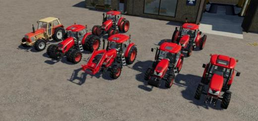 Photo of FS19 – Zetor Paketi V1.1