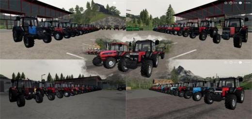 Photo of FS19 – Belarus Mtz Paketi V2