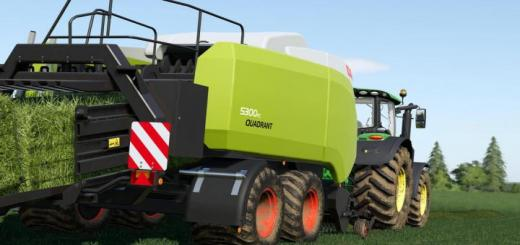 Photo of FS19 – Claas Quadrant 5300 Fc V1.0.0.1