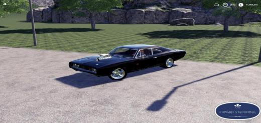 Photo of FS19 – Dodge Charger Rt1970 V1.0