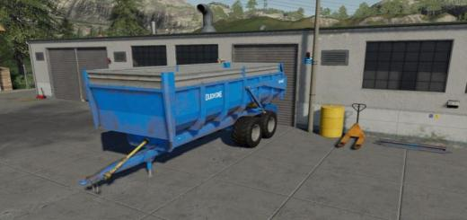 Photo of FS19 – Duchesne 16T Römork V1