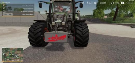Photo of FS19 – Fendt 800Kg Ağırlık V1.0