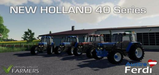 Photo of FS19 – Ford New Holland 40 Serisi V1