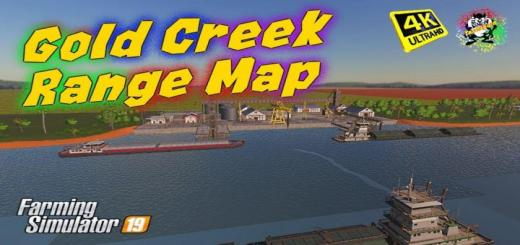 Photo of FS19 – Gold Creek Range Haritası V2.0.0.1