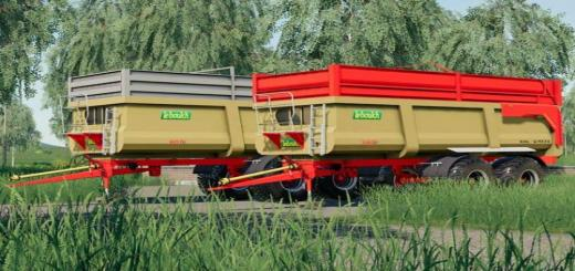 Photo of FS19 – Leboulch Gold 2 Xxl Römork Paketi V1.0