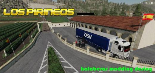 Photo of FS19 – Los Pirineos Haritası V1