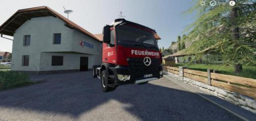 Photo of FS19 – Mercedes-Benz İtfaiye Sürümü V1.0