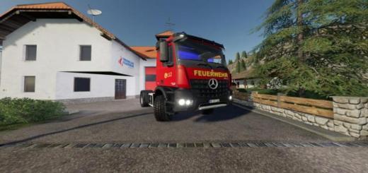 Photo of FS19 – Mercedes-Benz İtfaiye Sürümü V1.1