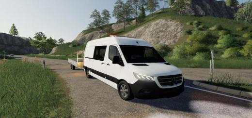 Photo of FS19 – Mercedes Benz Sprinter Vs30 V1.0