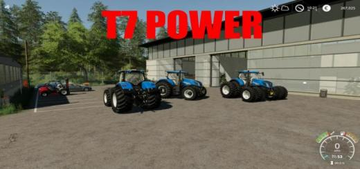 Photo of FS19 – Newhollande T7 Traktör V1