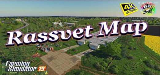 Photo of FS19 – Rassvet Harita Modu V2.6