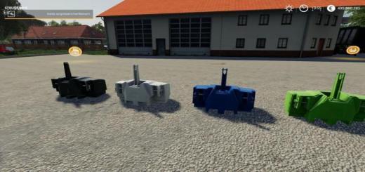 Photo of FS19 – Xxl Ağırlık Paketi V1.1.1.1