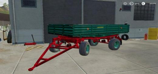 Photo of FS19 – Autosan D47 Römork V1.0