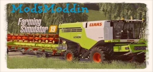 Photo of FS19 – Claas Lexion 780 Biçerdöver V2.0