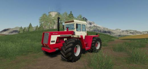 Photo of FS19 – International Harvester 4166 Traktör V1