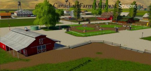 Photo of FS19 – Kanada Çiftlik Haritası V3.1