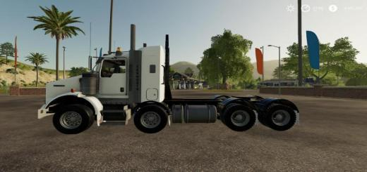 Photo of FS19 – Kenworth T800B Twinsteer V1.0