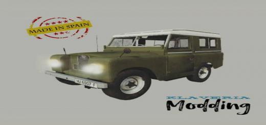 Photo of FS19 – Land Rover Santana 88 V1