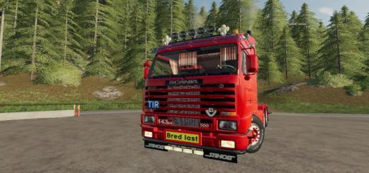 Photo of FS19 – Scania 143 6X4 Şasi Tır Modu V1.0