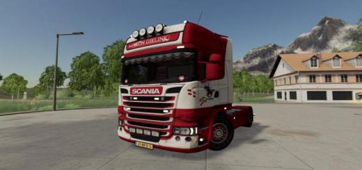 Photo of FS19 – Scania R-Serisi Topline 4X2 Aron Gielink V1