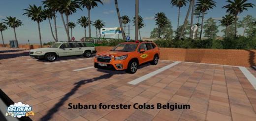 Photo of FS19 – Subaru Forester Colas Belçikalı Araba Modu V1.0