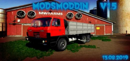 Photo of FS19 – Tatra 815 Agro & Modules V1.5