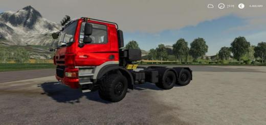 Photo of FS19 – Tatra Phoenix 6X6 Nerd Mp V1.0