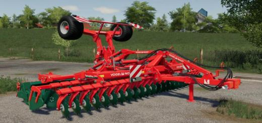 Photo of FS19 – Vogel & Noot Terra Disc 600 Kültivatör V1