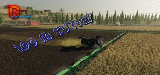 Photo of FS19 – 100 Metrelik Kesici V1.0