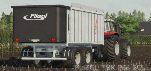 Photo of FS19 – Fliegl Tmk 266 Bull Römork V1
