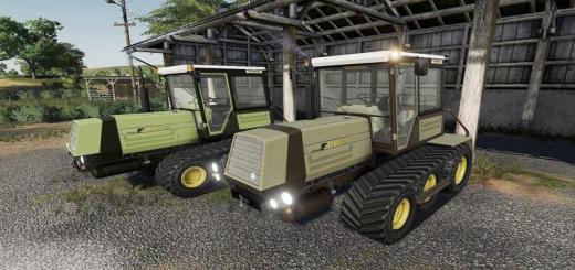Photo of FS19 – Fortschritt Zt320Gb Traktör V1